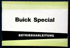 Owner'S MANUAL * Manuale di istruzioni 1963 Buick Special (D)
