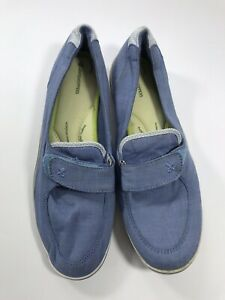 Grasshoppers-Womens-Size-11M-Blue-Loafers-Slip-On-Casual-Wear-Comfort-Cushion