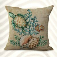 Us Seller-cheap Pillows And Throws Turtle Shell Cushion Cover