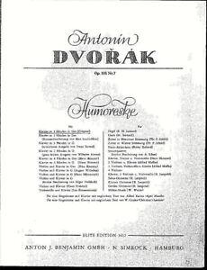 Anton-Dvorak-Humoreske-opus-101-No-7