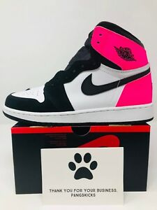 Nike Air Jordan 1 Retro High OG  Valentine s Day  Pink 881426-009 GS ... c44185da00