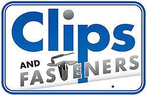 AMZ Clips And Fasteners 50 Door /& Quarter Glass Channel Clips For GM