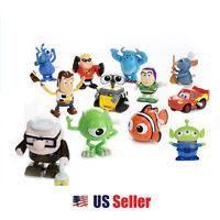 Disney Movin Movin Wind Up Lockwork Toy : Cars Monster Inc Nemo Woody Wall E