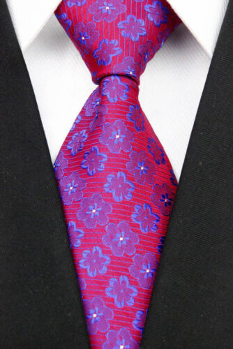 Muticolor Stripe plaid Man Classic Silk JACQUARD Woven Necktie Business Fashion