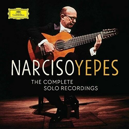 Narciso Yepes - Yepes - Complete Solo Recordings [New CD] Boxed Set