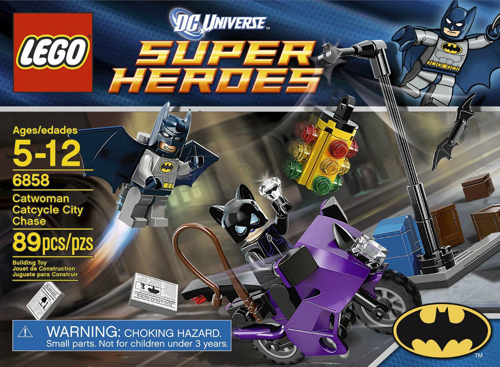 LEGO Super Heroes Batman Batman Batman - Rare - Catwoman Catcycle City Chase 6858 - New b3a3dc