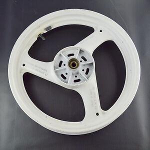 SUZUKI-RG125-FUN-OEM-WHITE-REAR-WHEEL-RIM-BJ-P-J17XMT2-75