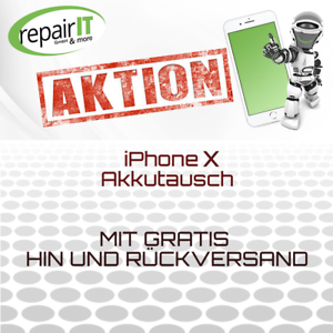 iPhone-X-OEM-Akku-Reparatur