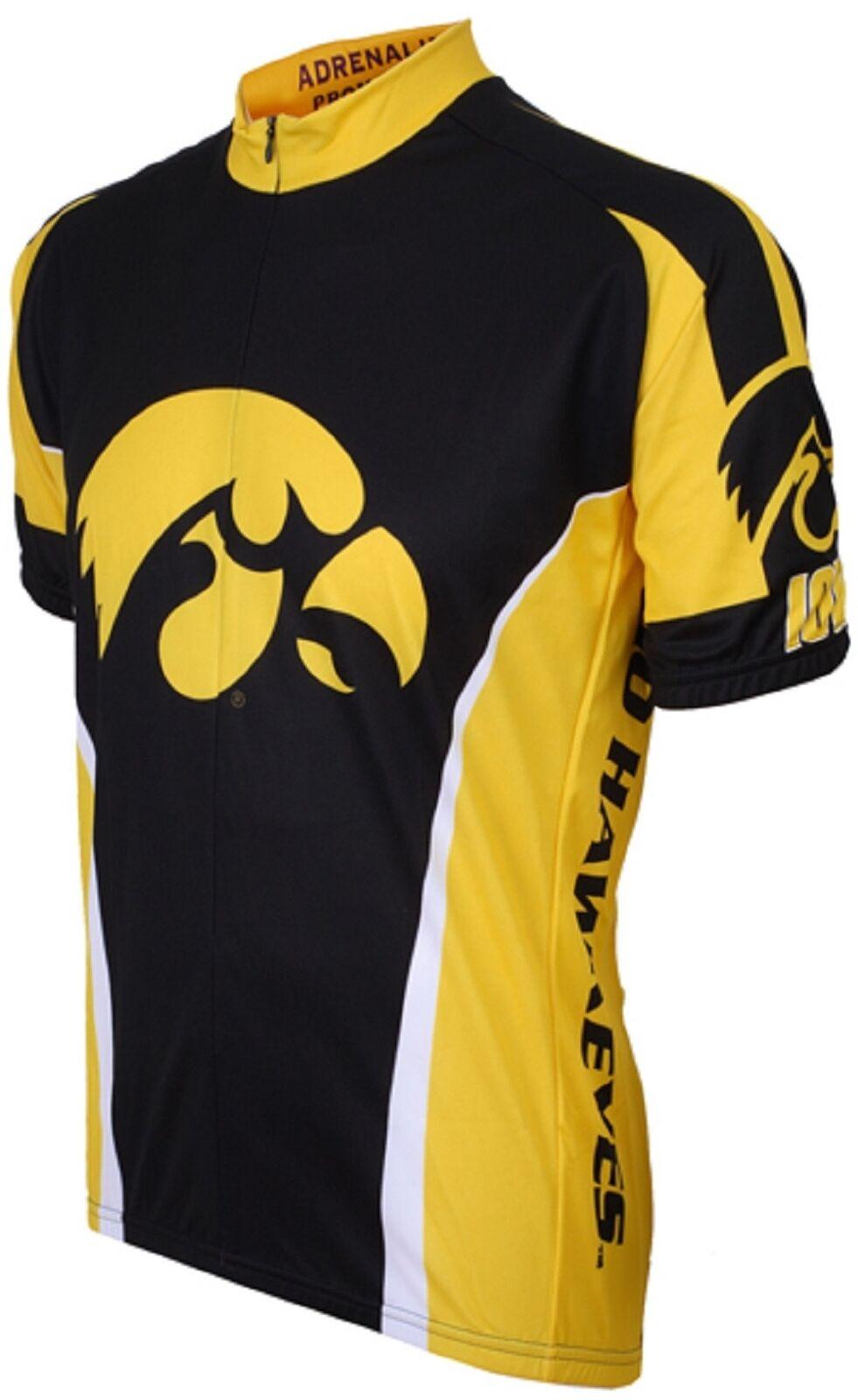 NCAA Herren Adrenaline Promotions Iowa Hawkeyes Straße Fahrrad Trikot