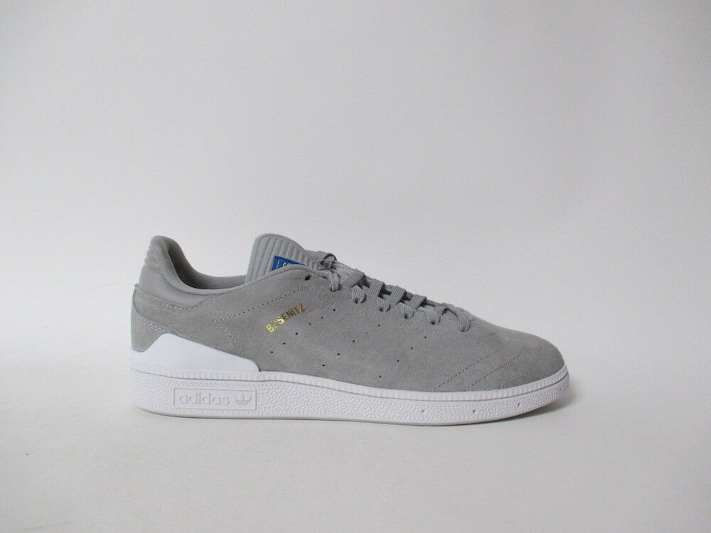 Adidas Busenitz RX Soft Grey White gold Sz 10.5 BY4100