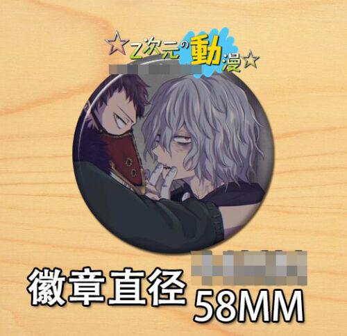 Anime My Hero Academia Bakugou Katsuki Badges badge brooch Pin 58mm Gift 0043