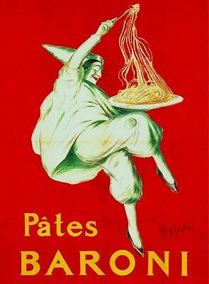 3119.Pates Baroni Spaghetti Pasta red POSTER.Home room restaurant art decoration