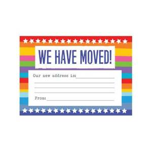 Change Of Address Cards Moving House We Have Moved New Address