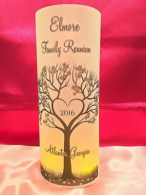 10 Personalized Family Reunion Luminaries Table Centerpieces Party Decorations 1 Ebay