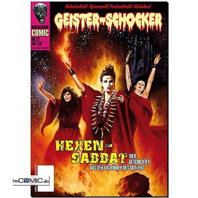 Geister- Schocker 22 Hexen Sabbat Romantruhe HORROR COMIC incl. CD Hörspiel NEU