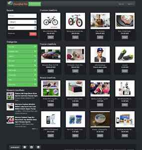 local classified website black theme free install ebay