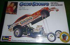 REVELL GENE SNOW SNOWMAN VEGA FUNNY CAR Model Car Mountain 1/25 FS