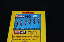 W354 BRAWA Train MaquetteHo 5579 Panneau eclairant lumineux signalisation route