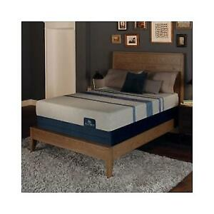 Serta Icomfort Blue Max 1000 Plush Gel Memory Foam Queen Mattress