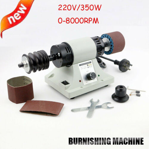 Leather Polishing Burnishing Machine Leather Edge Grinding Machine 8000rpm 220V