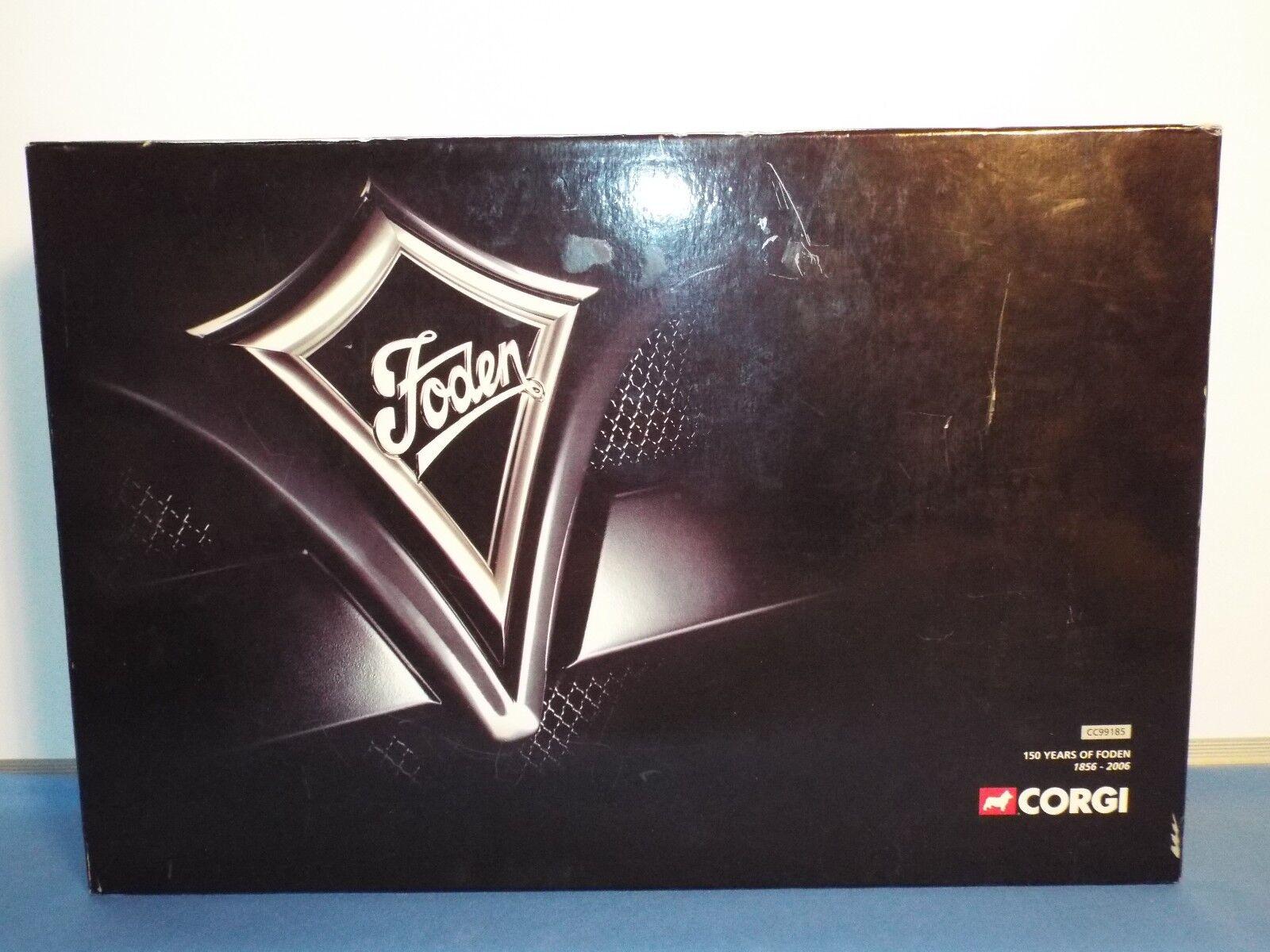 CORGI N. 99185 FODEN 150 ANNO Set VNMB