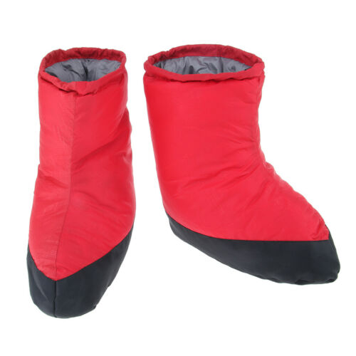 Details about  /Outdoor Winter Camping Feet Shoes Cover Slippers Boots Thermal Sock