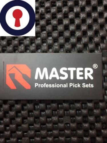 Serrurier Tension Set avec pince à épiler 7 Pièces Professionnel Pick Set 1st p/&p Inc