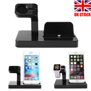 Charging Stand Mount Cradle Station Dock for Apple Watch iPhone 6 6s ... 66277bf659bbe