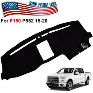 SPEEDWOW Dashboard Dash Board Cover Mat Carpet Compatible with 2015-2018 FORD F150