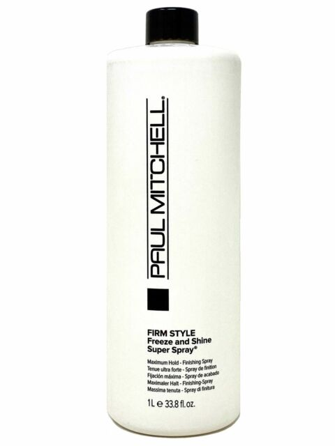 Paul Mitchell Freeze and Shine Super Spray 33.8 oz