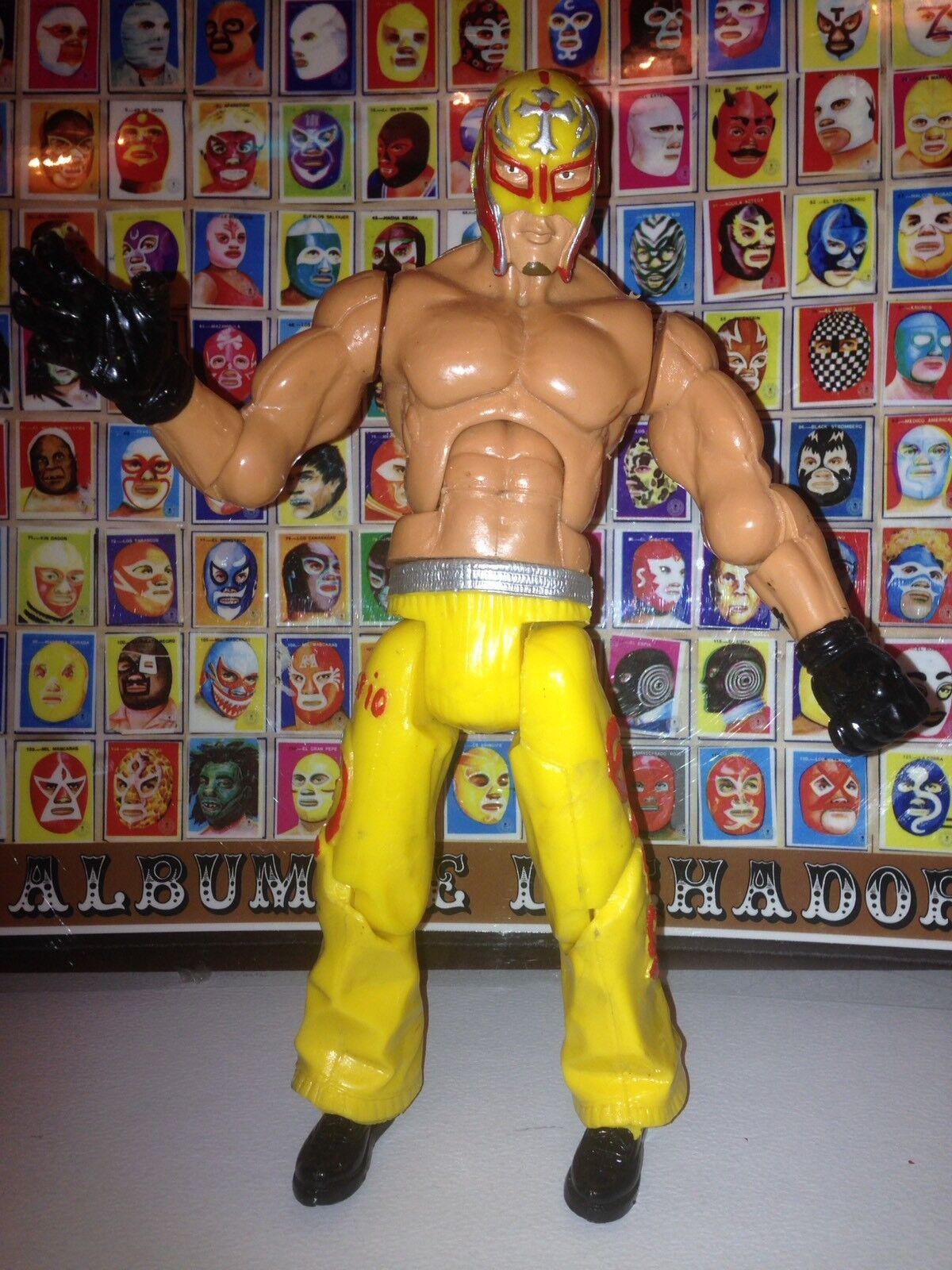 Bootleg wrestling Lucha Rey Libre 11 Inches Mexican Wrestler Rey Lucha Misterio Jr 79b384