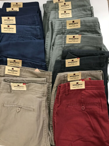 RelaxED Fit, Woolrich Women/'s Sunday Chino Pants 5 colors