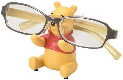 Cute Winnie the Pooh DISNEY Mascot Eye Glasses Stand Holder Case from Japan
