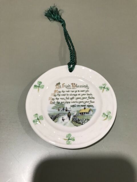 Belleek An Irish Blessing Ornament