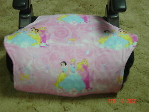 Princess-Disne<wbr/>y toddler booster seat cover-booster seat not included