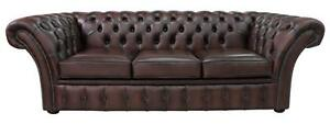 Chesterfield-Balmoral-3-Seater-Antique-Brown-Leather-Sofa-Settee