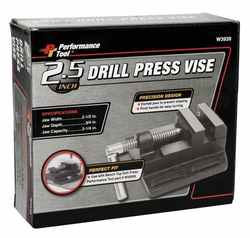 """Performance Outil 2-1//2/"""" Drill Press Vise Wilmar W3939"""