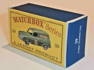 Matchbox-Lesney-No-59-FORD-SINGER-TRUCK-Empty-Repro-Box-style-D