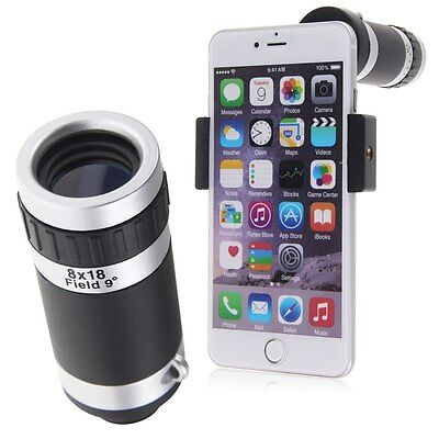 Universal 8x Zoom Telephoto Optical Camera Lens Telescope For Smart Phone