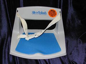 sassy sit n splash baby bathtub bath tub seat support. Black Bedroom Furniture Sets. Home Design Ideas