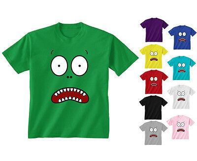 Giraffe Shocked Fake Pocket Kid/'s T-Shirt Children Boys Girls Unisex Top