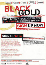 BLACK GOLD THE MOVIE UNUSED ADVERTISING COLOUR POSTCARD