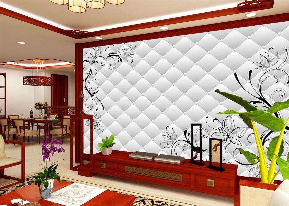 Mysterious Flower 3D Full Wall Mural Photo Wallpaper Printing Home Kids Decor