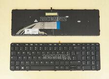 US Keyboard PK131C32A01 NSK-CZ0BC 9Z.NCGBC.01D 837551-001 W// backlit