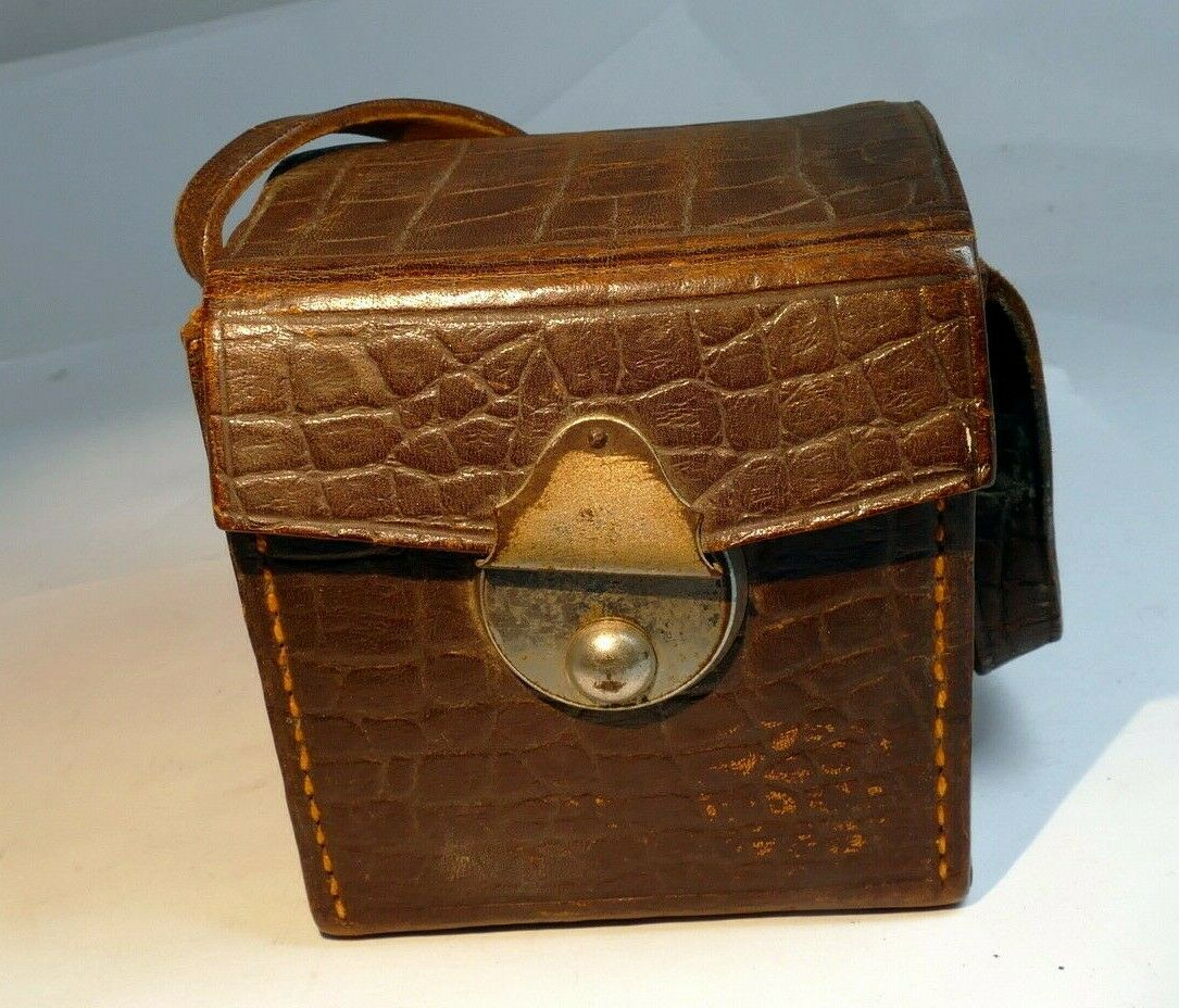 Leather Case for camera Baby Box Tengor 1930 Zeiss Ikon 54/18 GOERZ FRONTAR lens