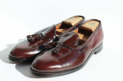 Alden of New England 11.5D 563 Shell Cordovan Tassel Moccasins - $692.00 - USA