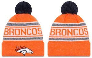 huge selection of b6f55 d9dff Image is loading Adult-New-Era-NFL-Denver-Broncos-Official-Sport-