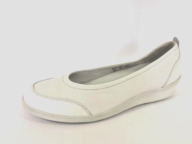 Scarpe ballerine Slipper Sandali pelle bosco alfiere tg. 6,5 (40)