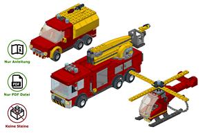 LEGO-Feuerwehrmann-wie-Jupiter-Venus-Wallaby-Sam-MOC-Anleitung-keine-Steine