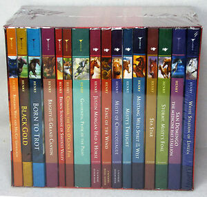 NEW-Marguerite-Henry-Complete-Collection-16-books-horse-Misty-Stormy-Boxed-Set